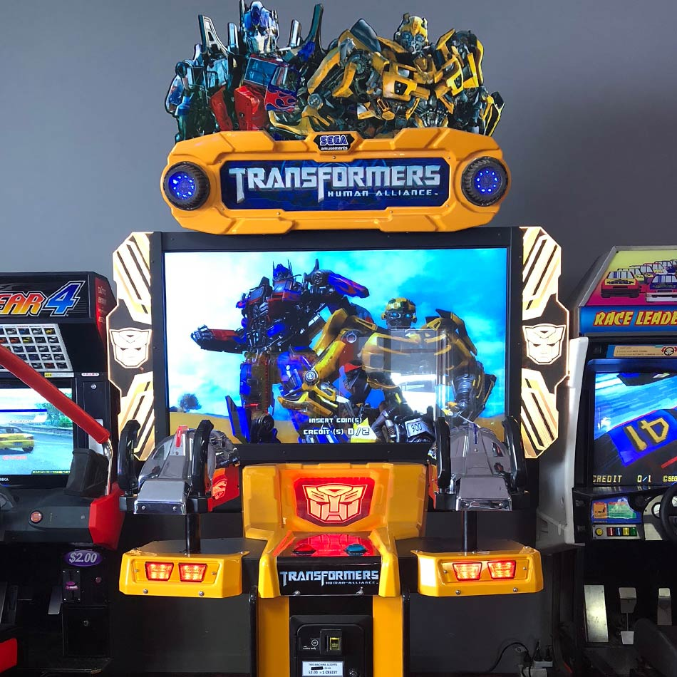 transformers arcade game
