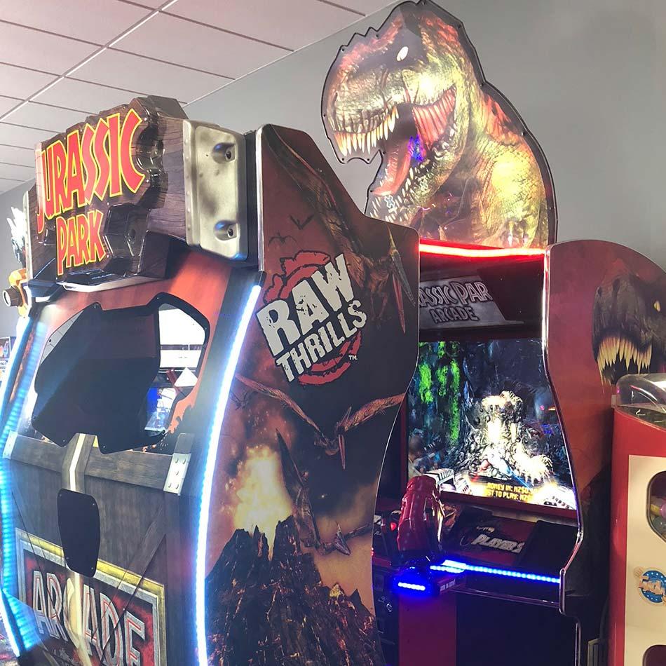 jurassic park arcade game